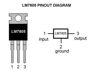 ic 7805 pin diagram all about 7805 ic voltage regulator pin diagram schematics