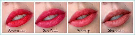 Nyx Lip Matte Varian San Paulo nyx soft matte lip amsterdam san paulo antwerp stockholm review and swatches gussy up