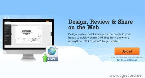 autodesk's free online dwf viewing service | cg daily news