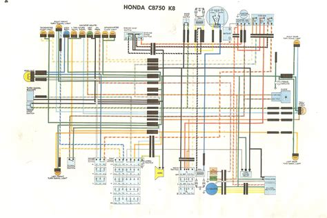 cb750k wiring diagram 1980 honda cb750 wiring diagram