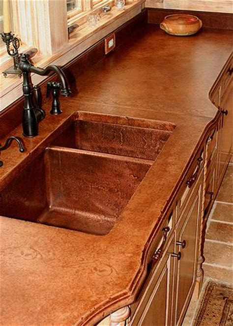 Concrete Countertops Buffalo Ny by 25 Best Ideas About Stained Concrete Countertops On
