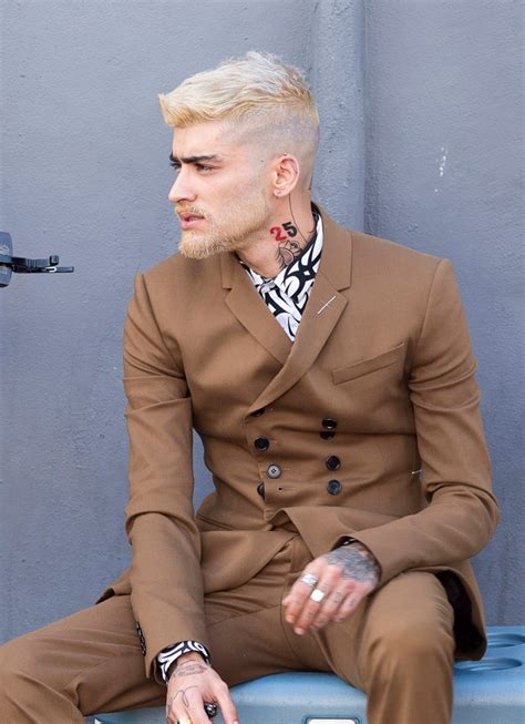 zayn malik haircuts features easy tutorial  men