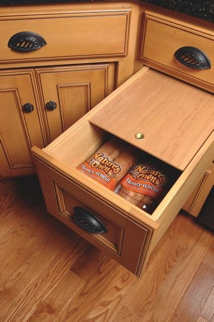 Bread Drawer   Traditional   Kitchen   cleveland   by