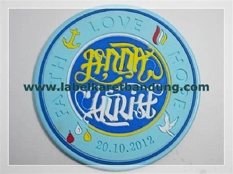 tatakan gelas karet rubber coaster