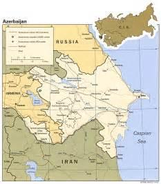russia map azerbaijan azerbaijan map and azerbaijan satellite images