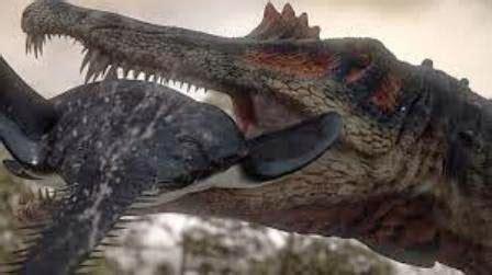 Dinosaurus Berkeliaran 1 spinosaurus dinosaurus terbesar di jamannya ragam dunia hewan