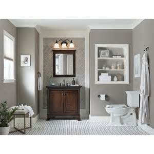Lowes Eastcott Vanity Shop Allen Roth Eastcott Auburn Undermount Single Sink