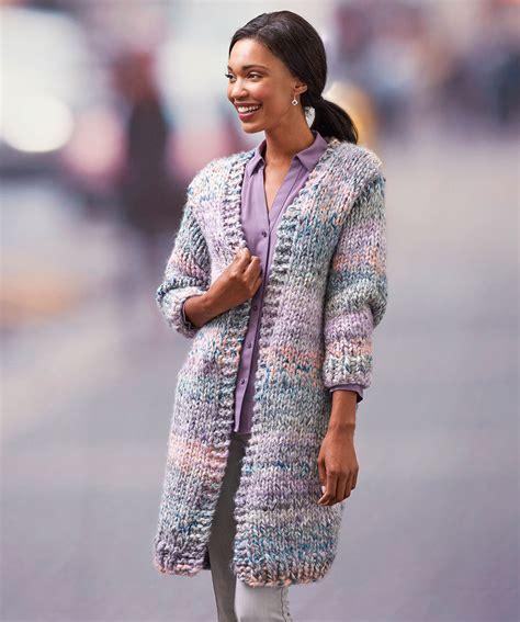 pattern cardigan long free bulky yarn cardigan patterns patterns knitting bee