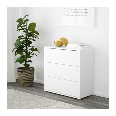 ikea eket eket cabinet with 3 drawers white 70x35x70 cm ikea
