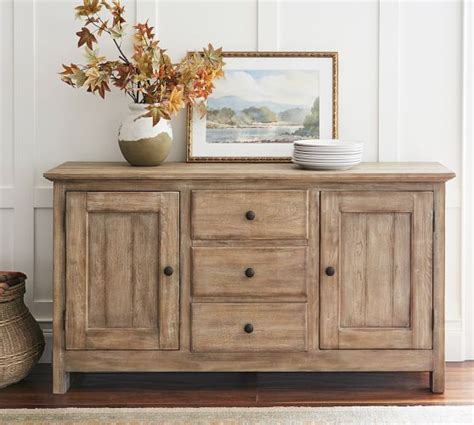 buffet ls pottery barn benchwright buffet pottery barn