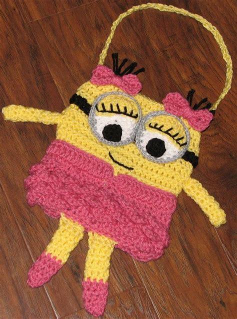 crochet pattern pink minion 17 best images about minions on pinterest perler bead