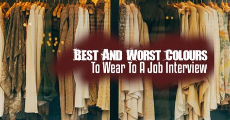 colors to wear to an 9 best and worst colours to wear to wisestep
