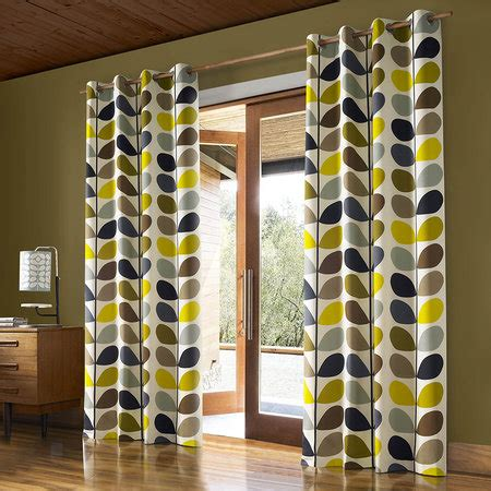 229 x 137 curtains buy orla kiely multi stem eyelet curtains duck egg