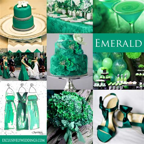 themes for the colour green your wedding color green exclusively weddings blog