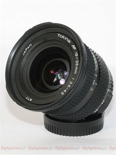 Lensa Tokina 19 35mm lenstip lens review lenses reviews lens specification lenstip