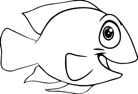 coloring pages of cartoon fish good cartoon fish coloring page sheet wecoloringpage