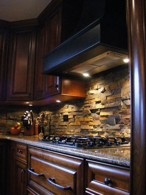 Rock Backsplash Kitchen 17 Best Images About House Ideas On Country House Plans Lumber Liquidators
