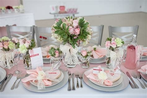 bridal shower table decorations flowers bridal shower centerpiece ideas with creative flower