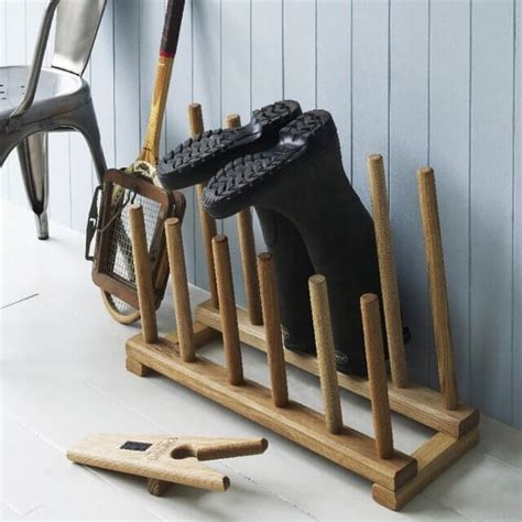 storage for shoes and boots 6 diy wooden boot rack boot organizer diy to make