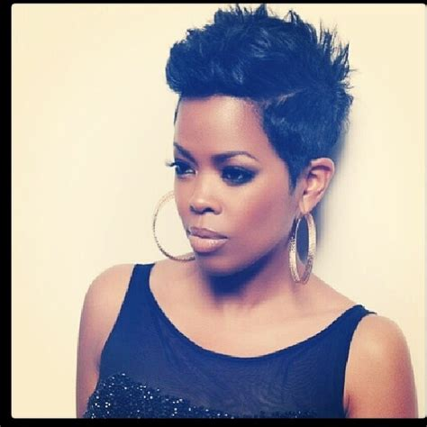 short hair styles worn by malinda williams pictures malinda williams malindas extra short haircut