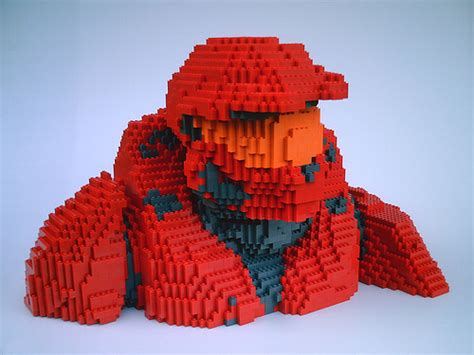 Kaos 3d Ca Batle And Big Size lego halo rvb sarge front leader of the team in the flickr