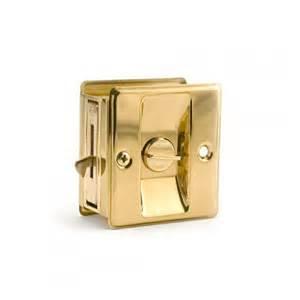 Brass Door Hardware by Classic Solid Brass Pocket Door Pull Hardware