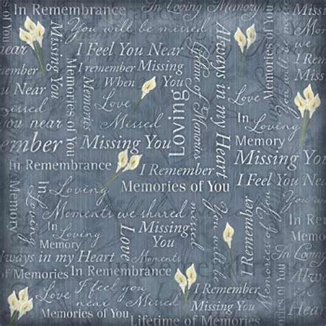 Memories Paper - family memories scrapbooking paper