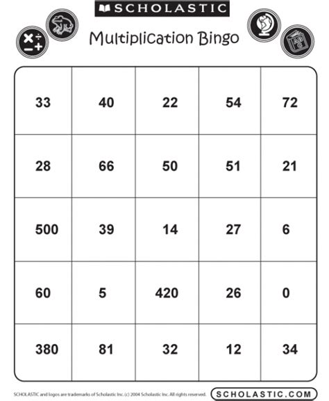 Math Bingo Card Template by 49 Printable Bingo Card Templates Tip Junkie