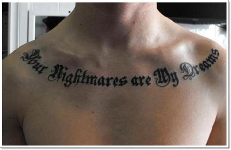 collarbone tattoos for men collar bone tattoos 18