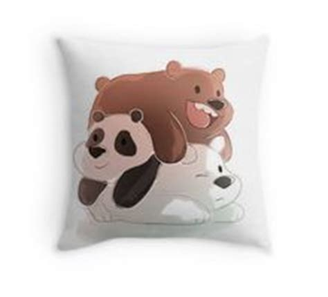 We Bare Bears Pillow 1000 images about we bare bears on bears and