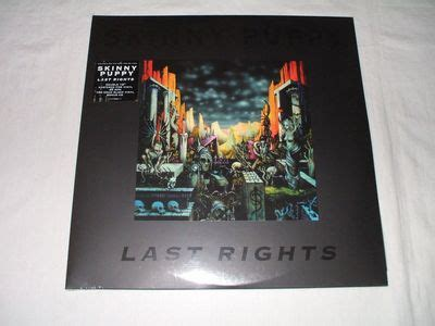 puppy last rights gripsweat puppy last rights 2lp 7 quot 45rpm bonus cd industrial frontline assembly