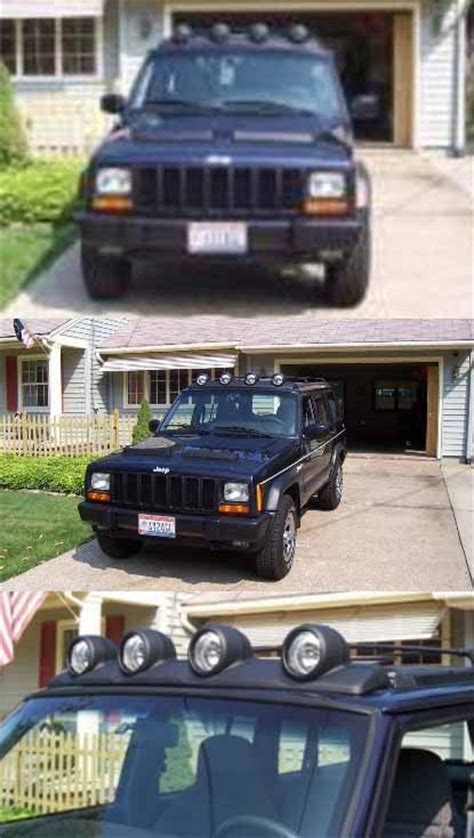 jeep xj light bar liberty light bar on an xj page 5 jeepforum com