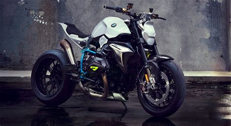 bmw motorrad concept roadster  boxer ducati fighter