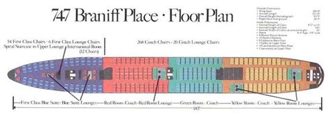 747 floor plan braniff 747 floor plan aircraft pinterest
