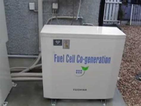 with a home fuel cell