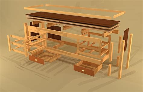schubkasten bauen diy workbench with drawers plans plans free