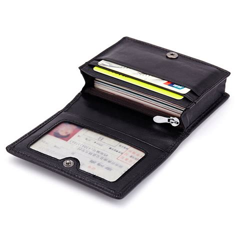 pattern credit card holder new fashion genuine lambskin leather business card holder