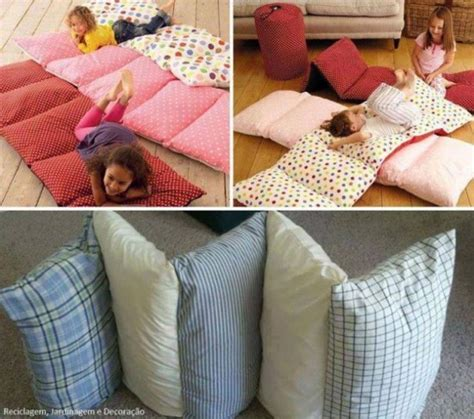 pillow bed for kids cozy bed in a bag for your kids home design garden