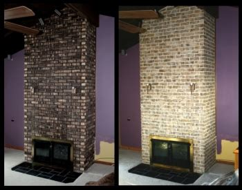 Brick Fireplace Stain by Staining Brick Is An Affordable Alternative To Painting Or