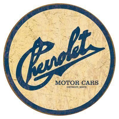 chevy historic logo tin sign  allposterscom