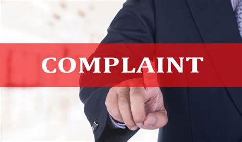 Complain Topedia The Of Complaint Handling Mohammad Cholil complaint filed against seven inmates after their repeated misbehaviour