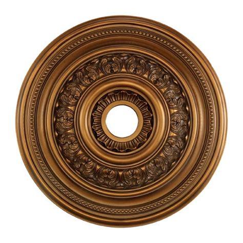 Ceiling Medalion by Hillspire Antique Bronze 24 Inch Ceiling Medallion Elk