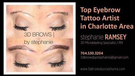 tattoo removal in charlotte nc eyebrow artist nc