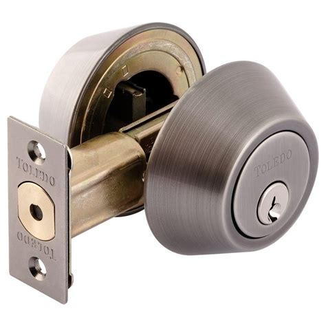 Cylinder Lock Home Depot by Toledo Locks Cylinder Deadbolt Cv1801us15a