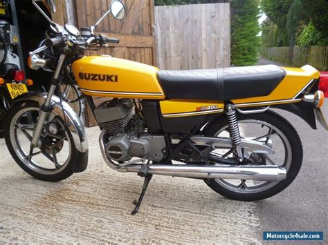Suzuki X5 For Sale Barn Find 2 1980 Suzuki X5 S One With 7 800