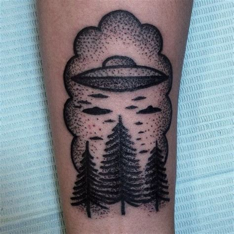 alien tattoo tumblr forest and tattoomagz