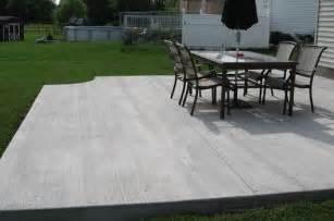 Concrete Patio Companies by Backyard Patio Companies Stamped Concrete Concrete