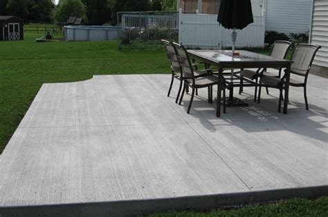 concrete patios a durable one to choose