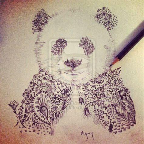panda elephant tattoo 17 best ideas about henna animals on pinterest easy