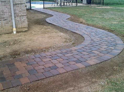 fresh elegant how to lay patio pavers foundation 19401